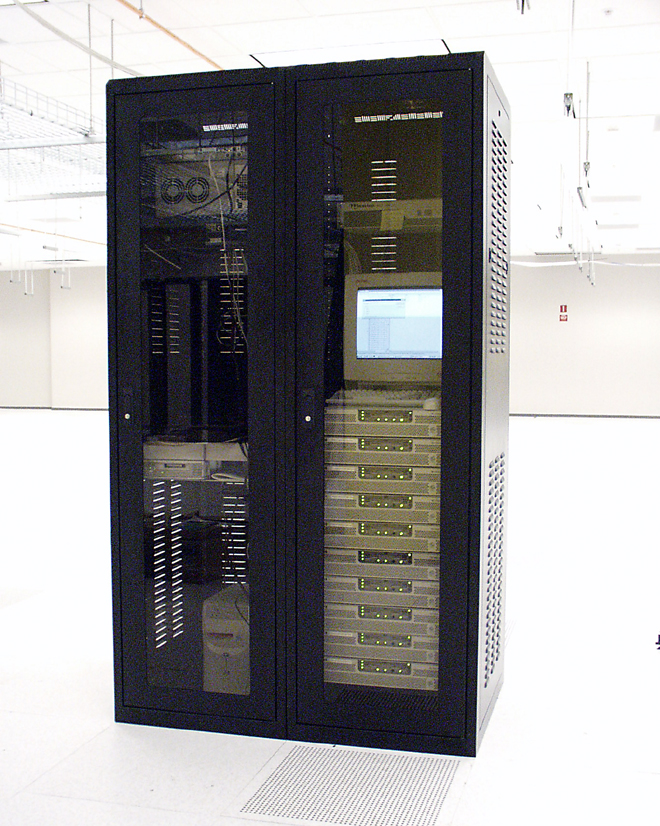 Dual Server Cabinet